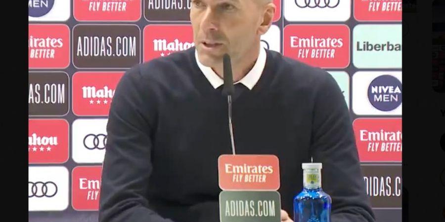 Zinedine Zidane Kesal Ditanya Terus-terusan soal Sergio Ramos