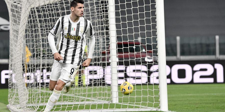 Hasil dan Klasemen Liga Italia - Comeback dari Virus yang Bikin Pingsan, Morata Bawa Juventus Pepet AC Milan