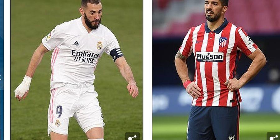 Karim Benzema dan Luis Suarez dalam Situasi Sulit Jelang Derbi Madrid