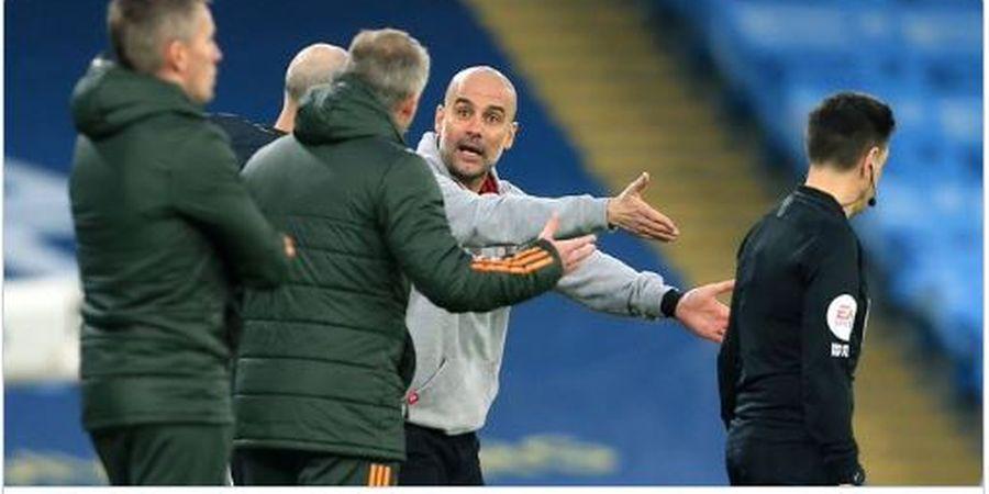 Terlibat Adu Argumen dengan Solskjaer, Guardiola Sebut Tak Ada Masalah
