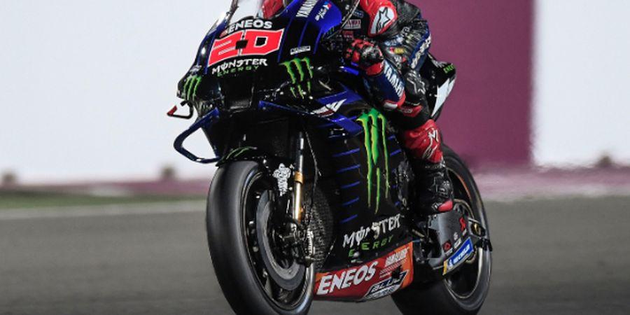 Hasil MotoGP Doha 2021 - Giliran Fabio Quartararo Asapi Motor Ducati, Valentino Rossi Finis di Posisi ke-15