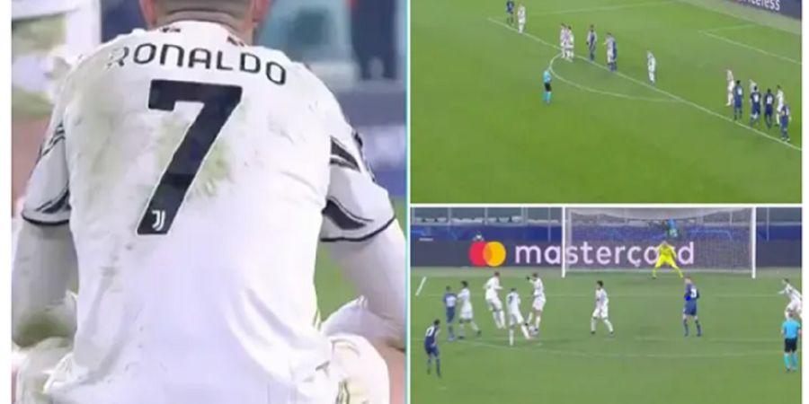 Cristiano Ronaldo Dikriminalisasi Pelatih dan Pemain Top, Salah Apa dengan Cara Ngeblok Free-kick?