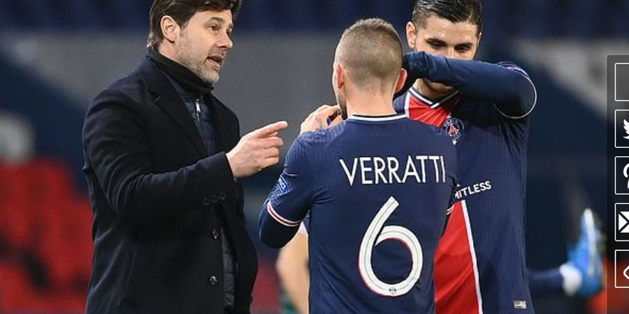 Singkirkan Barcelona, Pochettino Lega Tuntaskan Empat Tahun Dendam PSG