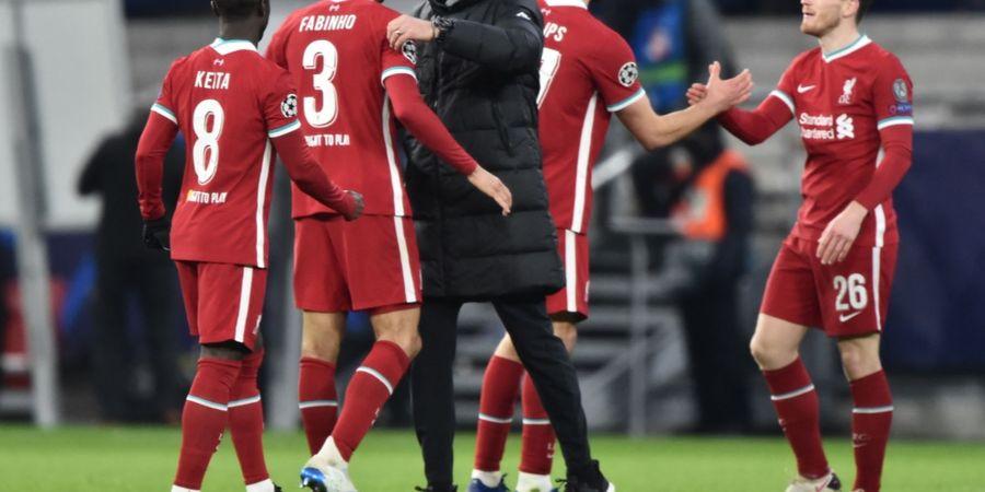 Liverpool Tumbangkan RB Leipzig Berkat Gelandang Bertahan Terbaik