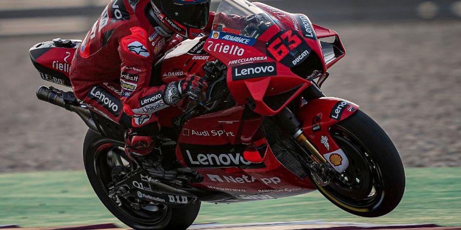 Analisis Memblenya Ducati di Lintasan Lurus Saat MotoGP Qatar 2021