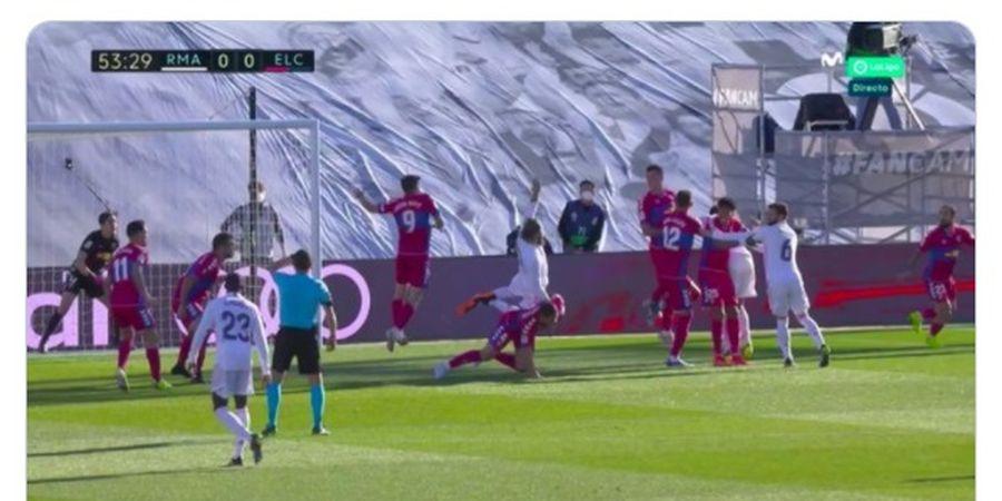 Wasit Tak Gubris Sergio Ramos Dibanting, Zinedine Zidane Yakin Ada Sesuatu
