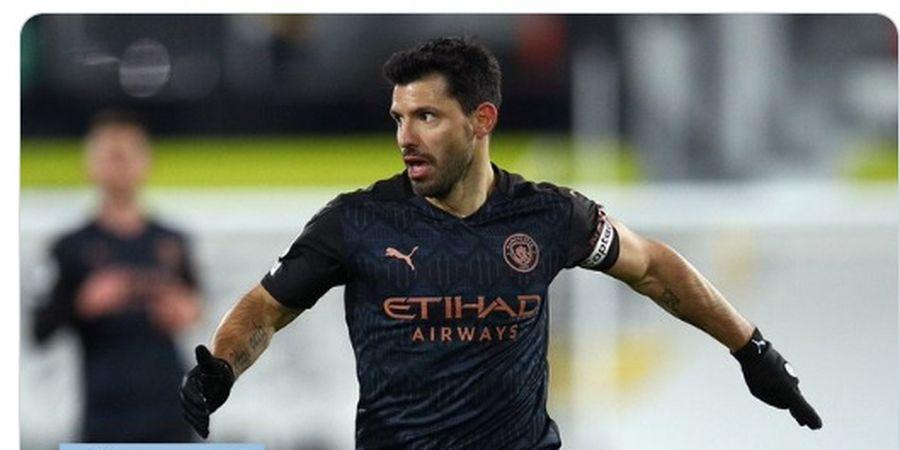 Sergio Aguero Cocok di Arsenal, tetapi Diramal Pindah ke Liga Spanyol