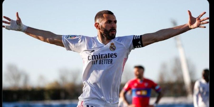 Jadi Pahlawan Kemenangan Real Madrid, Karim Benzema: Alhamdulillah