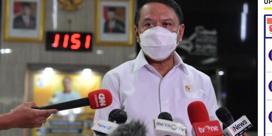 Menpora Minta PBSI Tekan BWF Setelah Indonesia Diusir dari All England 2021