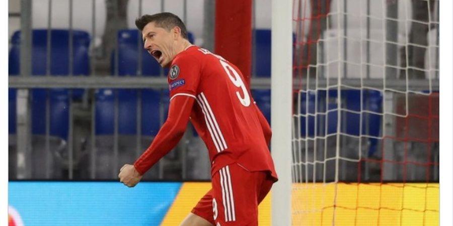Hasil Babak I - Lewandowski Paling Produktif, Bayern Muenchen Unggul 1-0 atas Lazio