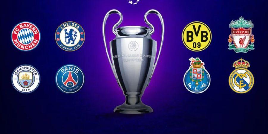 Hasil Drawing Perempat Final Liga Champions Versi Simulasi, Liverpool Bahaya
