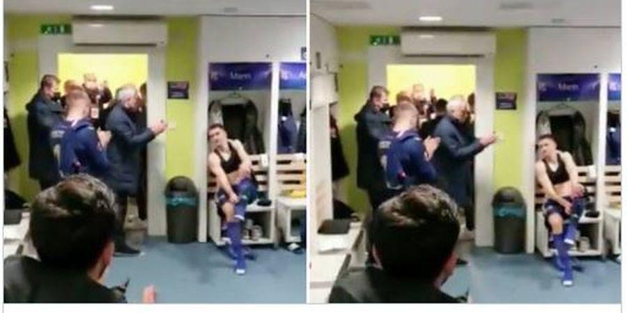 Jose Mourinho Sambangi Ruang Ganti Dinamo Zagreb, Ada Kembaran Bruno Fernandes