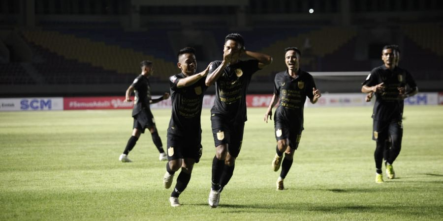 Piala Menpora 2021 - Fandi Eko Utomo Bikin Assist dan Gol, PSIS Ungguli Tira Persikabo di Babak Pertama