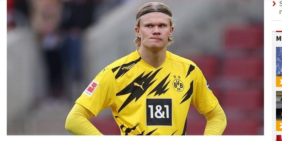 Erling Haaland Mengamuk, Ingin Hengkang dari Borussia Dortmund?