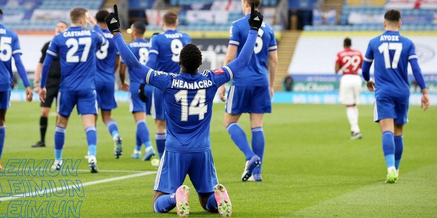 Tantang Chelsea, Leicester City Tembus Final Piala FA Lagi setelah 52 Tahun