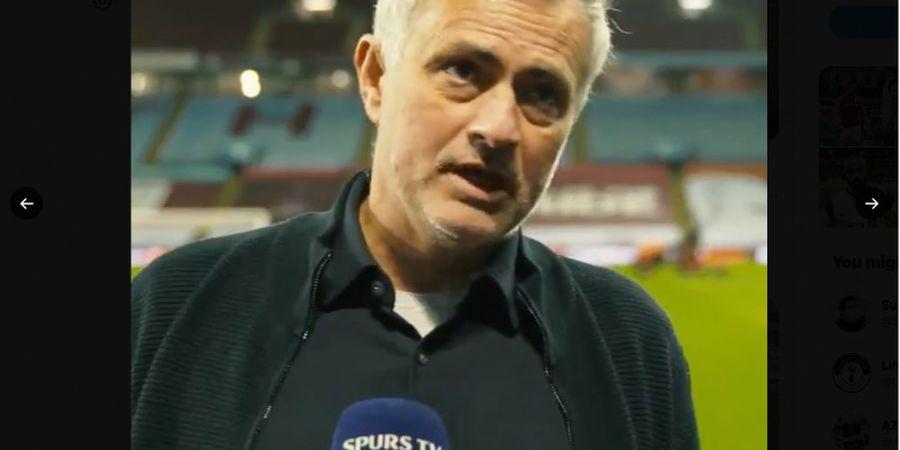 Jose Mourinho Beri Tantangan untuk Tottenham Usai Kalahkan Aston Villa