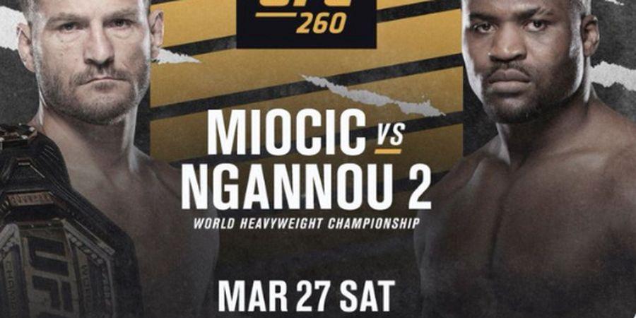 Jadwal UFC 260 - Miocic vs Ngannou 2, Asa Petugas Damkar Kendalikan Api Si Predator Ganas