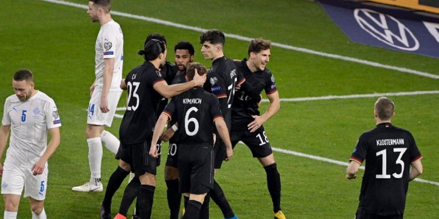 Sikat Islandia, Timnas Jerman Perpanjang Rekor Kemenangan di Kualifikasi Piala Dunia