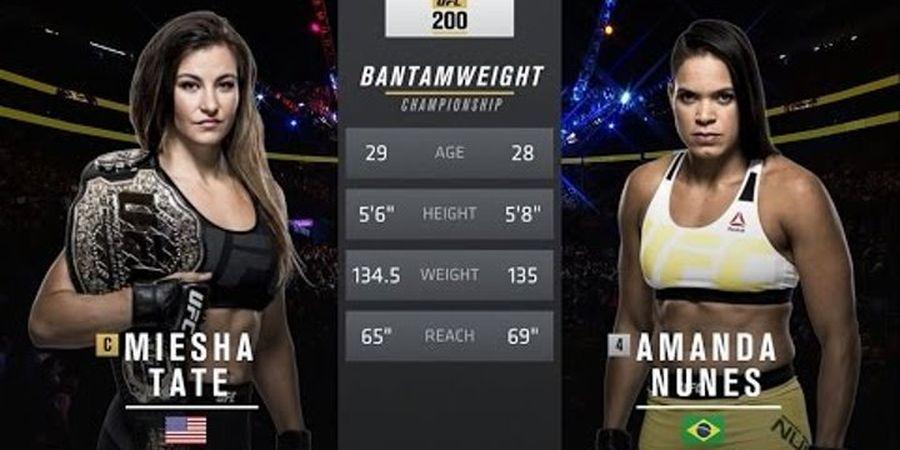 UFC Sudah Frustrasi, Panggil Pensiunan buat Hentikan Amanda Nunes