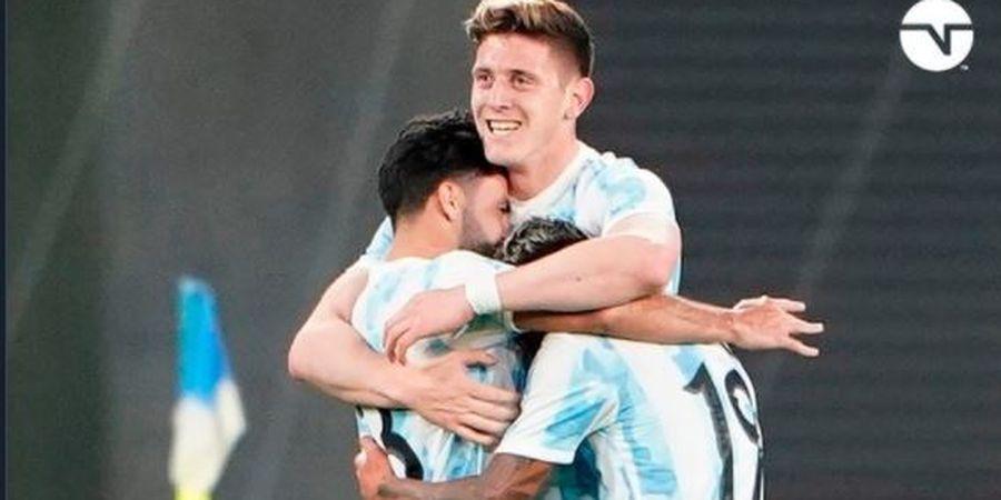 Tank Baja Penghancur Juventus Cetak Gol Sundulan sambil Melayang, Argentina Hajar Jepang
