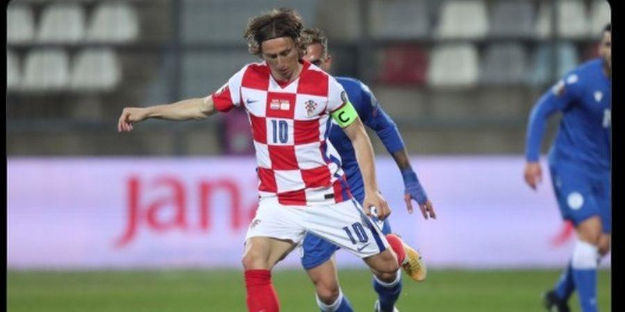 Luka Modric Nangis Setelah Bertanding, Ternyata Ini Penyebabnya