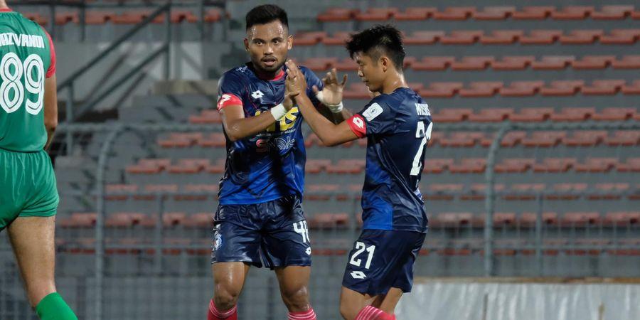 Duel Pemain Timnas Indonesia di Liga Malaysia Berakhir Sama Kuat