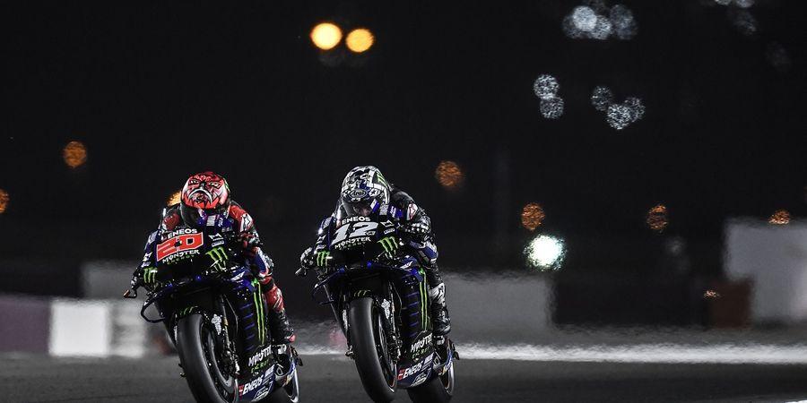 Pesta Kemenangan Yamaha pada MotoGP Qatar Ternodai Sindiran Pembalap Mereka Sendiri