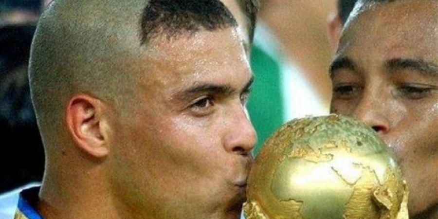Gara-gara Gaya Rambut Ikonik di Piala Dunia 2002, Ronaldo Minta Maaf ke Emak-emak Seluruh Dunia