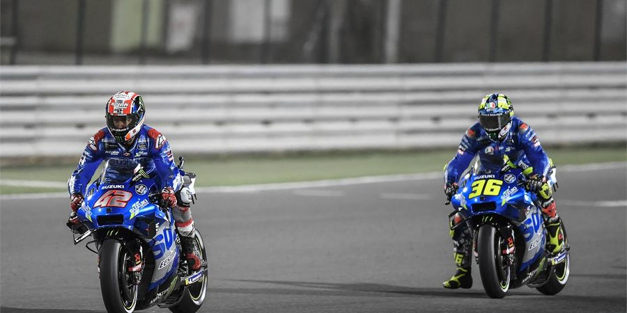 MotoGP Doha 2021 - Misi Penebusan Joan Mir Usai Di-bully Duo Ducati hingga Gagal Podium