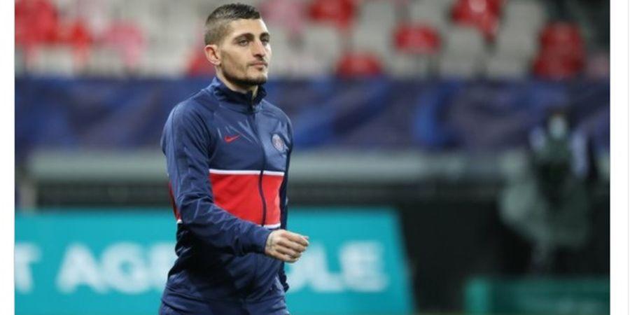 Kena COVID-19, Marco Verratti Dipastikan Absen Kala PSG Bentrok dengan Bayern Muenchen