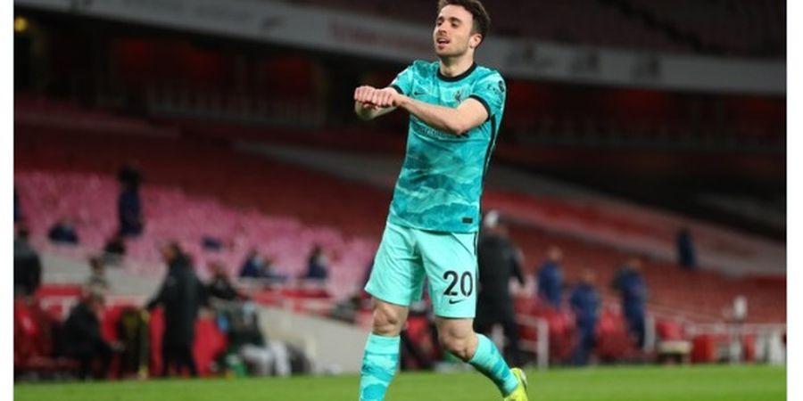 Hasil Liga Inggris - Dampak Instan Diogo Jota, Liverpool Bekuk Arsenal di Emirates