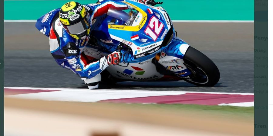 Moto2 Doha 2021 - Tercecer Bareng Mandalika SAG Team, Thomas Luethi Kecewa