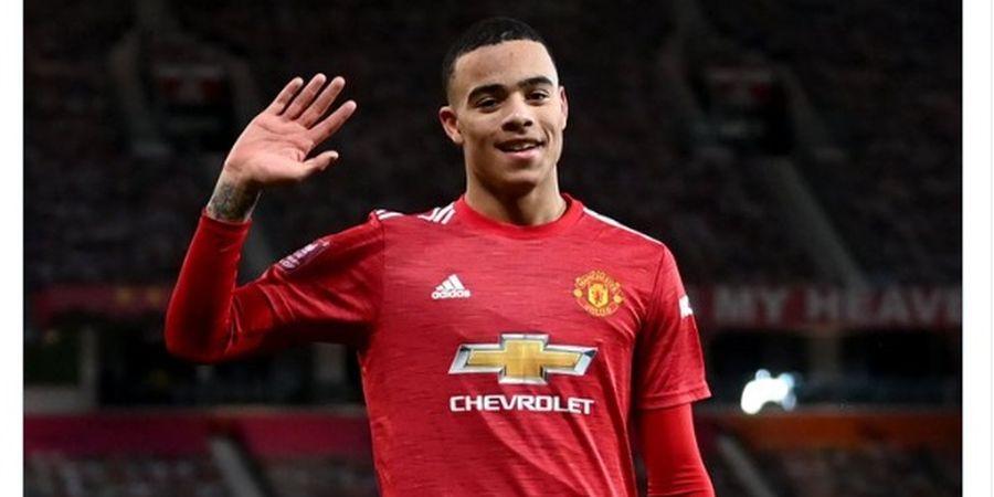 Hasil Liga Inggris - Manchester United Comeback, Dibantu Gol Sundulan Perdana Mason Greenwood