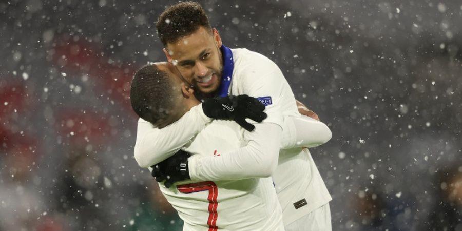 Neymar Jadi Pelayan 2 Kali, PSG Main Efektif dan Permalukan Bayern Muenchen di Babak Pertama
