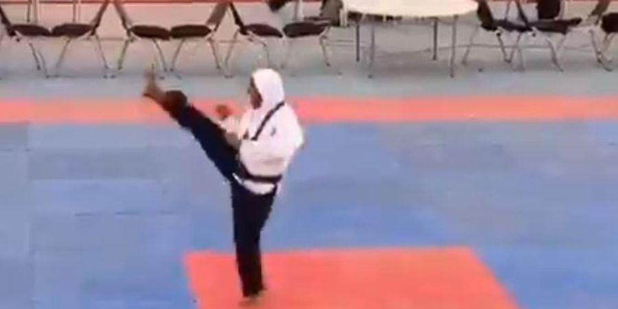 Perempuan Super! Hamil Besar, Jagoan Taekwondo Gondol Medali Emas