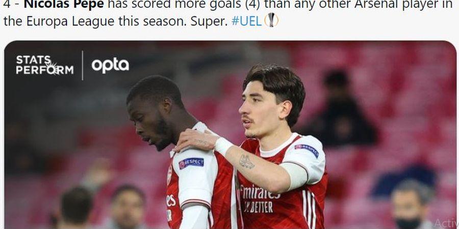 Hasil Liga Europa - Berkat Gol Injury Time , Slavia Praha Gagalkan Kemenangan Arsenal