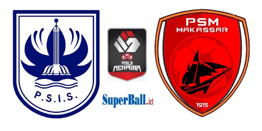Hasil Perempat Final Piala Menpora 2021 - Drama PSM Tembus Semifinal