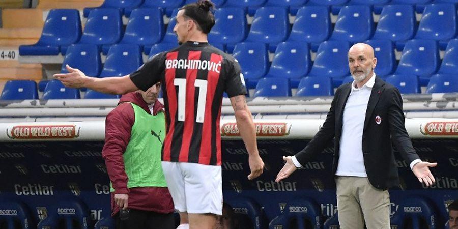 Zlatan Ibrahimovic Bukan Tuhan AC Milan, tetapi Biang Kerok