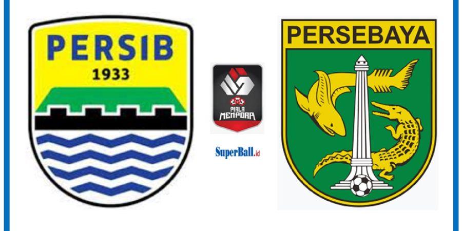 Hasil Piala Menpora 2021, Persib Pesta Gol, Kiper Persebaya Diusir