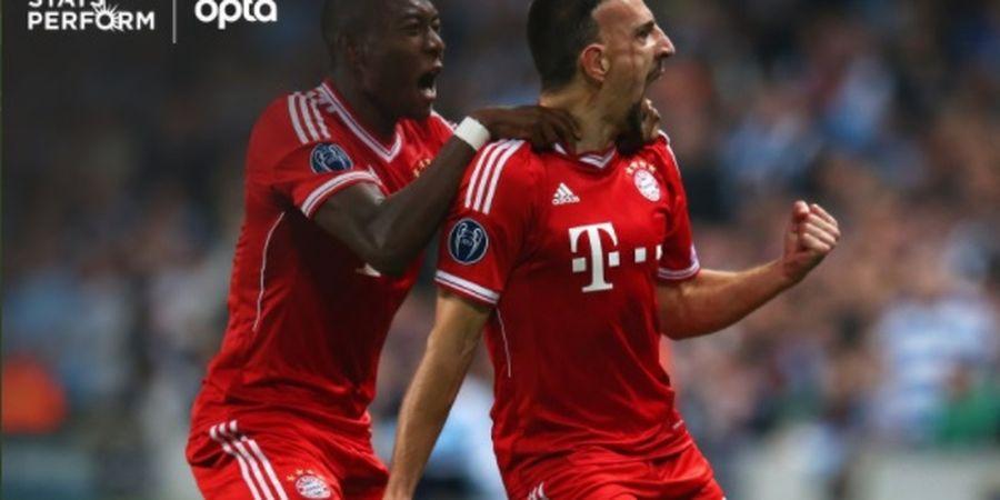 Bayern Muenchen Keok dari PSG, David Alaba Samai Rekor Spesial Franck Ribery