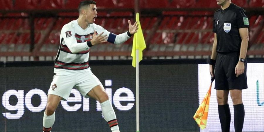Asisten Wasit yang Anulir Gol Cristiano Ronaldo Marah karena Dipecat