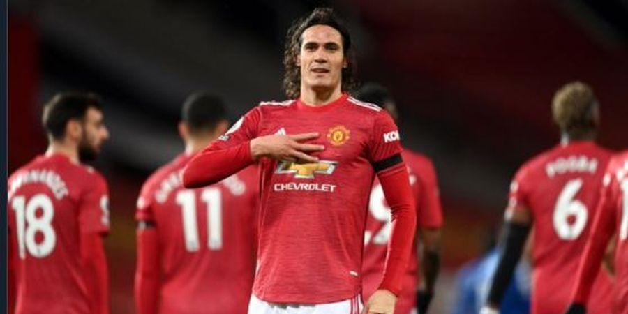 Rekor Spesial Ibrahmovic di Man United Kini Dibuntuti Edinson Cavani