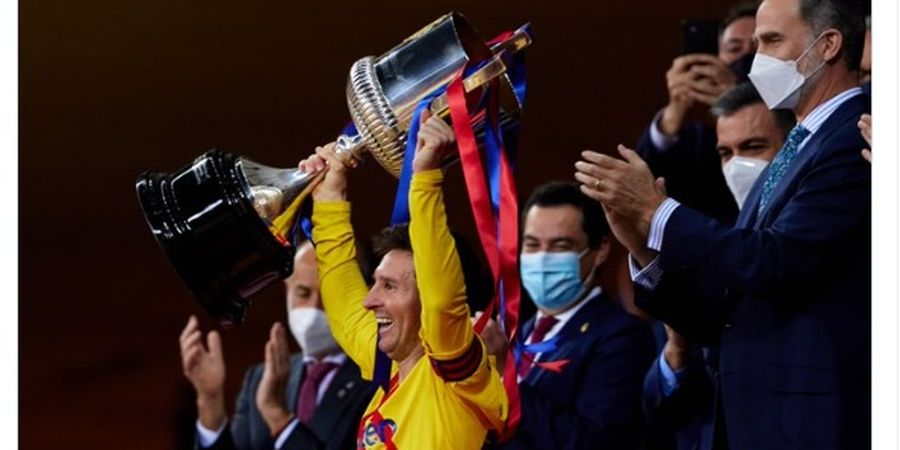Juara Copa del Rey, Trofi Messi Masih Kalah Banyak dari Eks Barcelona