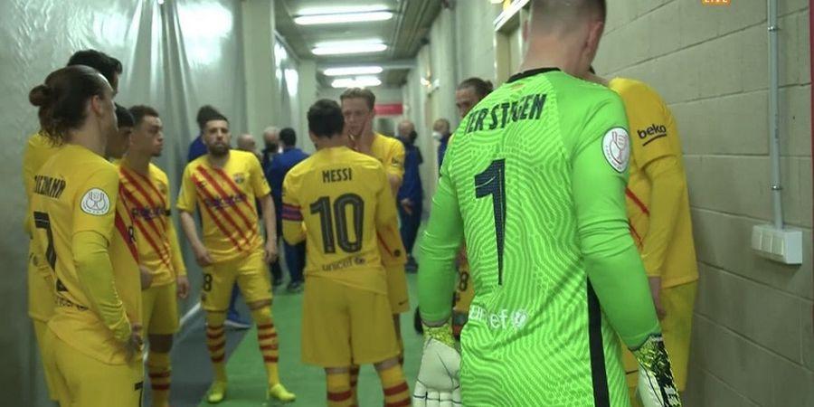Kasih Instruksi ke Frenkie de Jong, Messi Menggila di Babak Kedua