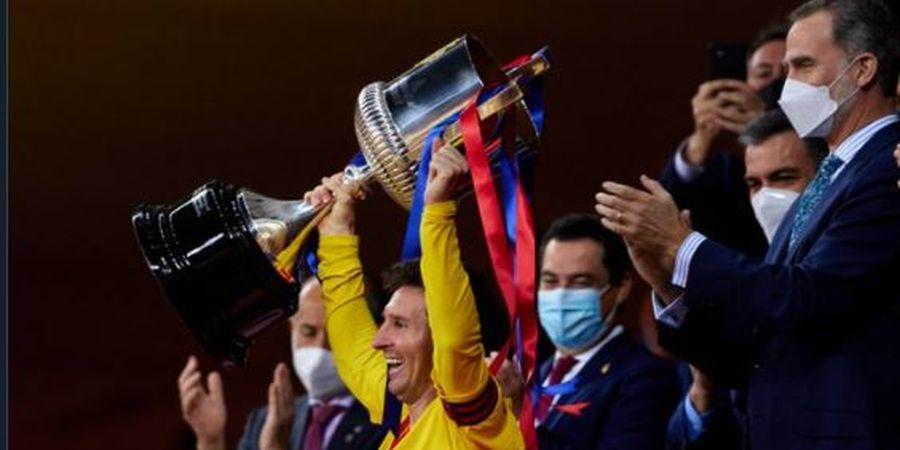 Barcelona Juara Copa Del Rey, Presiden Klub Langsung Minta Lionel Messi Bertahan