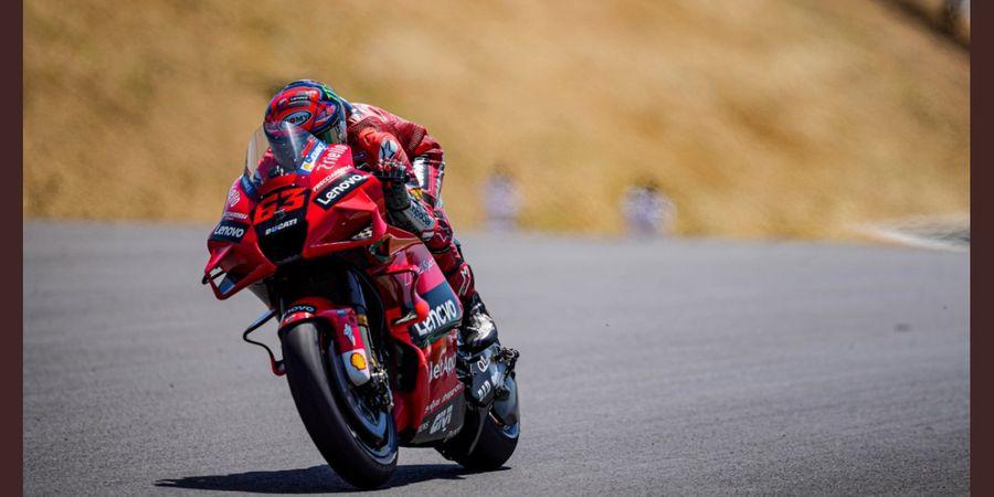 Hasil FP2 MotoGP Spanyol 2021 - Francesco Bagnaia Tercepat, Valentino Rossi Terdampar di Bawah