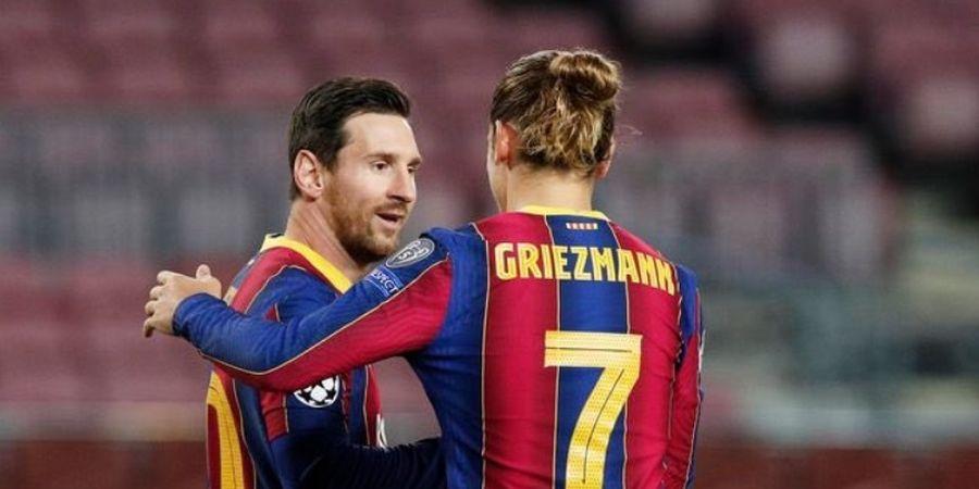 Kembali Buka Suara, Griezmann Tegaskan Hubungannya dengan Messi Baik
