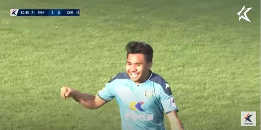 Setelah Dua Bulan 'Hilang' dari K-League 2, Asnawi Mangkualam Kembali Jadi Starter