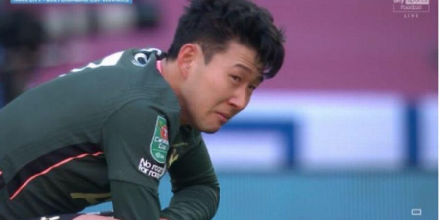 Nangis sambil Jongkok Usai Kalah, Son Heung-min Bikin 3 Bintang Man City Simpati