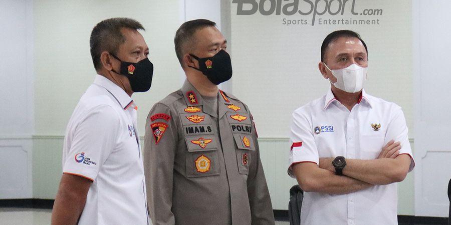 Demi Kemajuan Sepak Bola Indonesia, PSSI Jalin Kerja Sama Bareng Polri